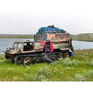 Активисты ОНФ в Ненецком автономном округе обеспокоены фактами перемещений вездеходов по тундре