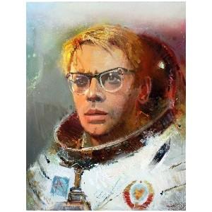 Космос в работах художников XXI века – выставка современного искусства в Мончегорске