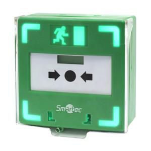 Новая унифицированная кнопка марки Smartec для экстренной разблокировки дверей