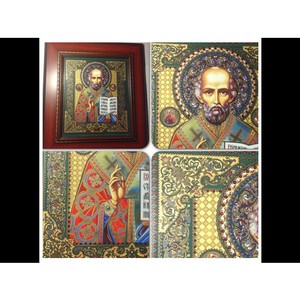 «Хотколорс» изготавливает иконы на керамике со стразами Сваровски