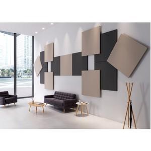 Новая акустическая система Rockfon System Eclipse Wall для внутренней отделки стен
