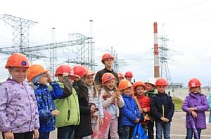 Дети сотрудников ФСК ЕЭС посетили «объект нового поколения»