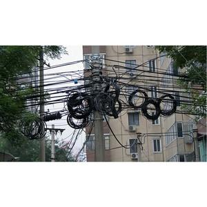 Незаконно размещенные линии связи будут массово демонтированы