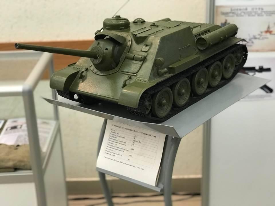 Уралтрансмаш отметил 75-летие Уральского добровольческого танкового корпуса