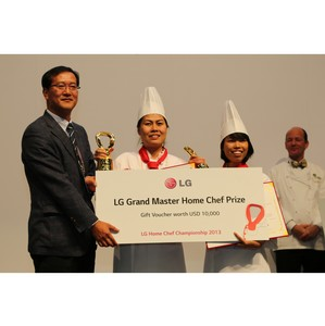 Вьетнамская команда выигрывает чемпионат LG Home Chef 2013 года