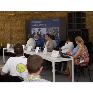 Panasonic поддержал начинающих инноваторов на StartupVillage 2014