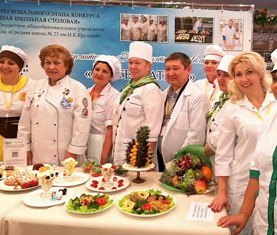 За звание лучших столовых сразились коллективы из 58 регионов России
