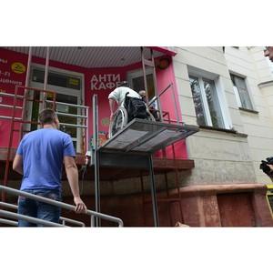 Челябинский штаб ОНФ призвал установить контроль над безопасностью подъемников для инвалидов