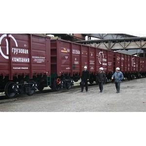 ПГК увеличила объем перевозок в полувагонах на полигоне Красноярской железной дороги