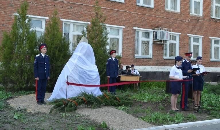 Новый памятный знак в честь героев войны появился в г. Миллерово