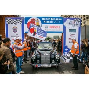 В Москве прошло историческое ралли Bosch Moskau Klassik 2014