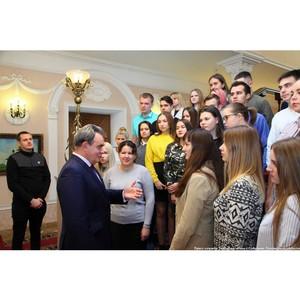 Валерий Лидин нацелил студентов на учебу и созидательную деятельность