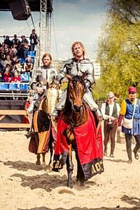 Международный рыцарский турнир Св. Георгия в Москве становится традицией
