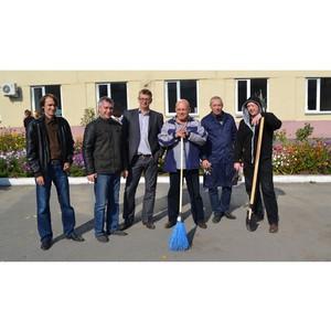 25 сентября в Кадастровой палате Курганской области прошел субботник