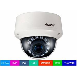 Новые сетевые видеокамеры торговой марки GANZ для видеосъемки с 2 Мп в любое время суток