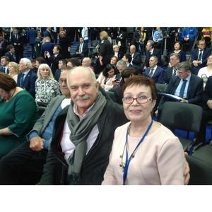 Представитель ОНФ в Коми приняла участие во встрече Путина с доверенными лицами