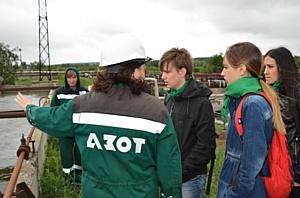 «ЭКОдесант» ознакомился с работой «Азота» в области экологии Кемерова