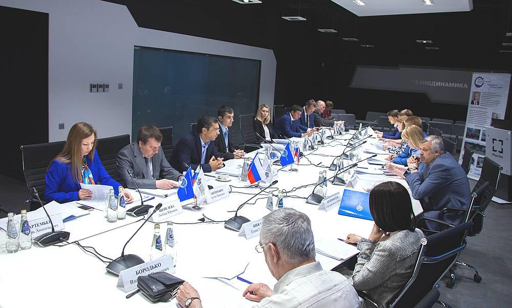 Заседание Совета по профессиональным квалификациям в машиностроении