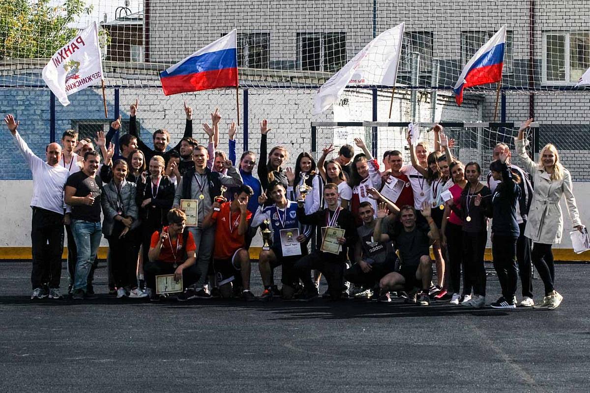 В Дзержинском филиале РАНХиГС состоялось открытие второй академической спартакиады