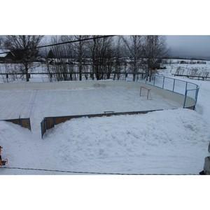 ОНФ в Коми добился обустройства детской спортивной площадки в селе Межадор Сысольского района