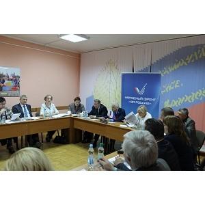 Оренбургское отделение ОНФ запускает в регионе проекты Народного фронта