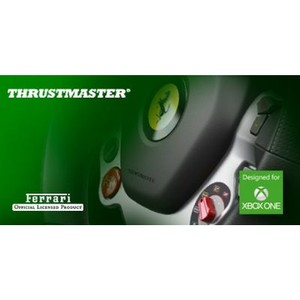 Thrustmaster: первый гоночный руль для Xbox One – TX Racing Wheel, Ferrari 458 Italia Edition