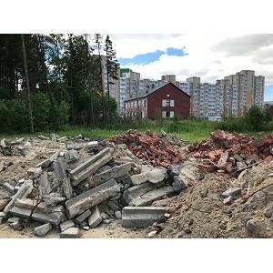 ќЌ' в ёгре настаивает на ужесточении требований к утилизации строительных отходов