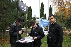 Cвязь Tele2 проверили на бердинг-ралли