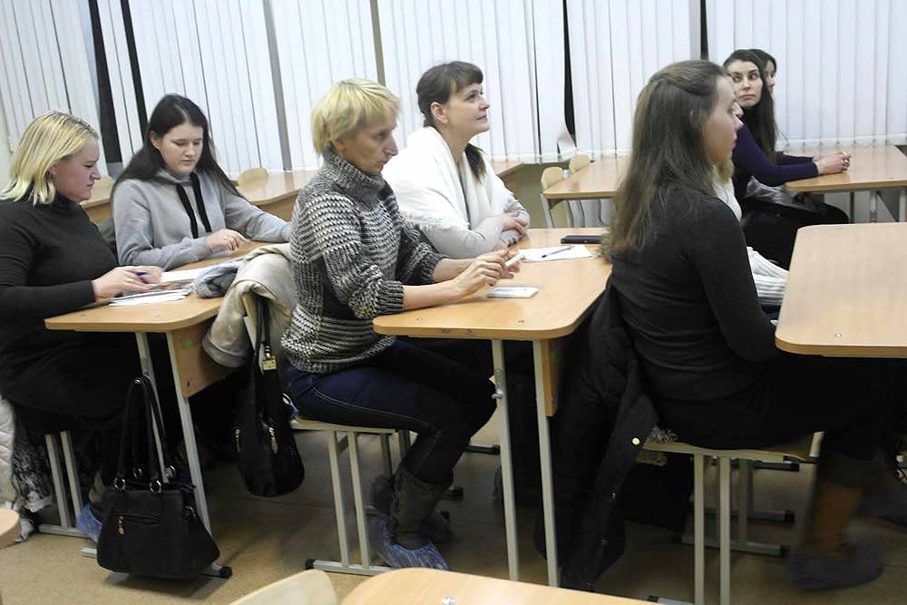 Встреча с будущими студентами