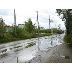 Активисты ОНФ в Коми подняли проблему пешеходных участков в Сыктывкаре, где нет тротуаров