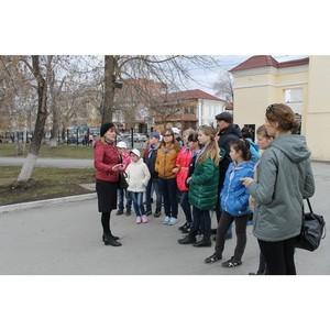 Активисты ОНФ провели для юных жителей Кургана экскурсию по историческому центру города