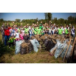 «САН ИнБев» провел экологическую акцию в «Птичьей гавани»