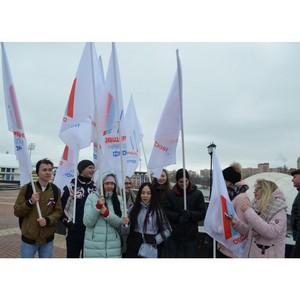 Активисты Народного фронта приняли участие в праздновании Дня народного единства в Мордовии