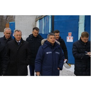 Гендиректор МРСК Центра проверил работу электросетевого комплекса компании в Костромской области