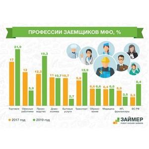 Среди заемщиков МФО стало больше продавцов, водителей и силовиков