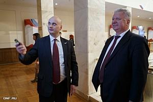 Глава мурманского исполкома ОНФ выступил с презентацией на выставке проекта «За честные закупки»