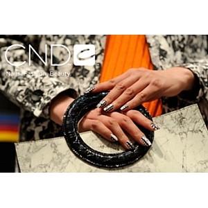 Nail-дизайнеры бренда CND на показе Opening Ceremony