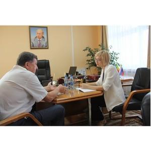 Бизнес-защитник Забайкалья и глава парламента договорились о продвижении законодательной инициативы