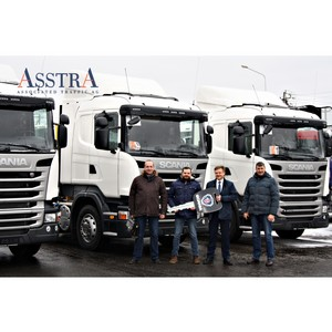 Группа компаний AsstrA-Associated Traffic AG пополнила автопарк