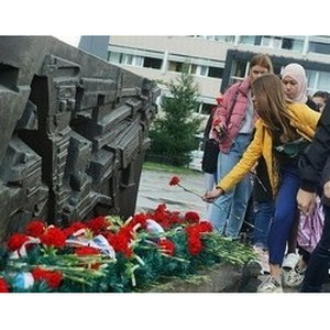 В Екатеринбурге почтили память погибших в Беслане