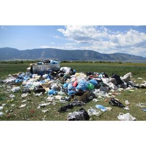 """јктивисты ќЌ' подвели предварительные итоги реализации проекта Ђ√енеральна¤ уборкаї в """"ыве"""