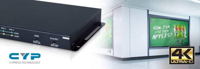 Передовые HDMI Ultra HD сплиттеры Cypress для любых AV проектов по доступным ценам