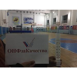 Активисты ОНФ в Туве выявили строительные недостатки в новом спортивном комплексе в селе Бай-Хаак