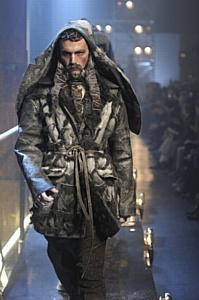 Коллекция зимних курток Джона Гальяно: Память о Рудольфе Нуриеве