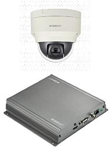 Новинки: скоростная купольная PTZ камера Wisenet XNP-6120H и видеодекодер Wisenet SPD-150