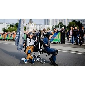 В Екатеринбурге прошли гонки на офисных креслах