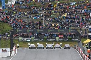 Российский гонщик Тимур Тимерзянов попал в финал чемпионата мира по ралликроссу в Норвегии