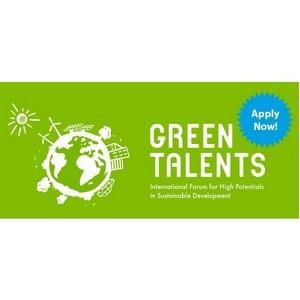 Открыт прием заявок на участие в конкурсе «Green Talents Award» 2018