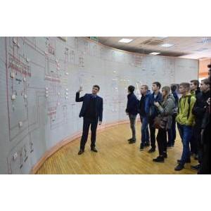 Будущие энергетики посетили филиал «Мариэнерго»