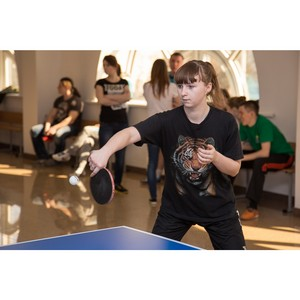 В УрФЮИ состоялся турнир по настольному теннису среди студенческих отрядов